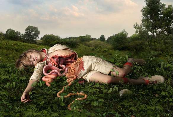 Dead Corpse Photography