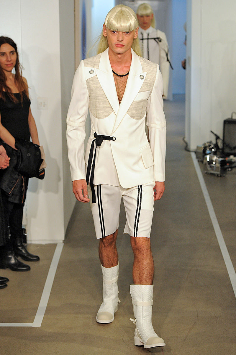 Androgynous Uniform Runways