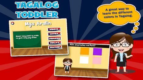 Tagalog Toddler Apps