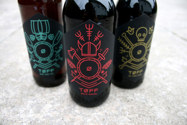 Viking-Inspired Beer Branding