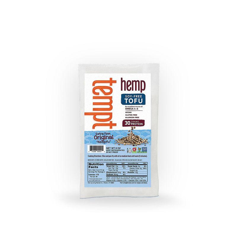 Hemp-Based Tofu Blocks