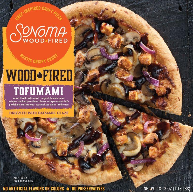 Rustic Tofu Pizzas