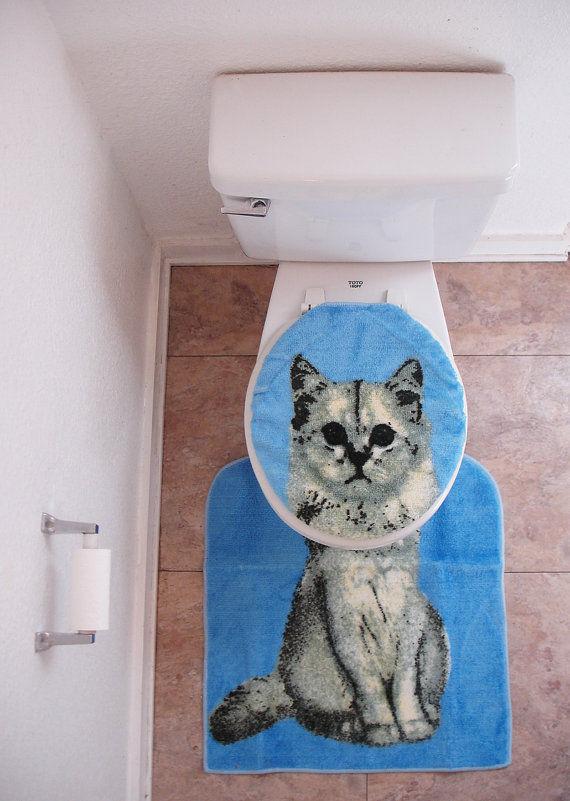 Feline Toilet Cozies