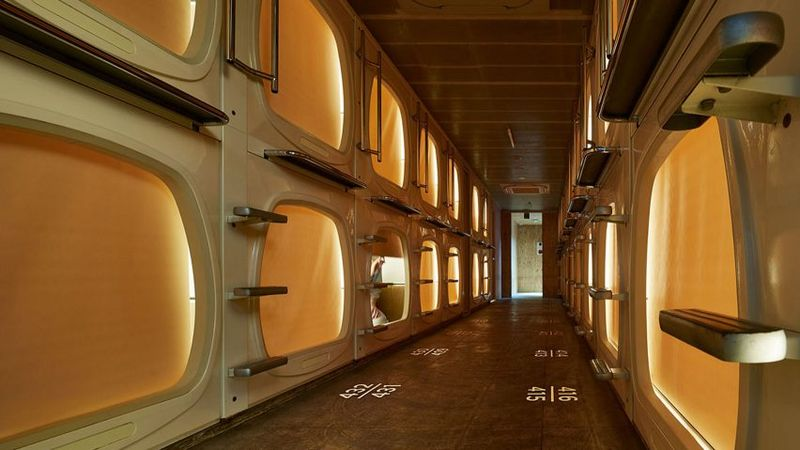 Contemporary Capsule Hotels