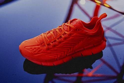 Fully Orange Tonal Sneakers
