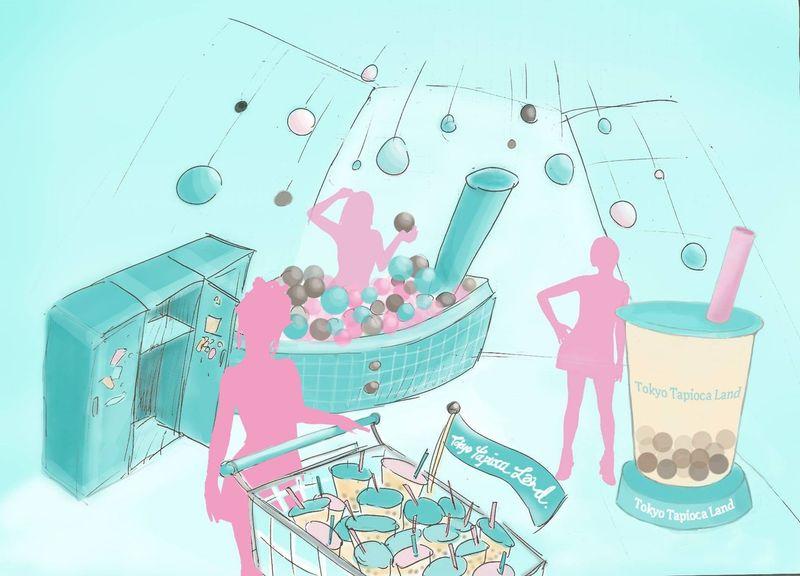 Bubble Tea Theme Parks