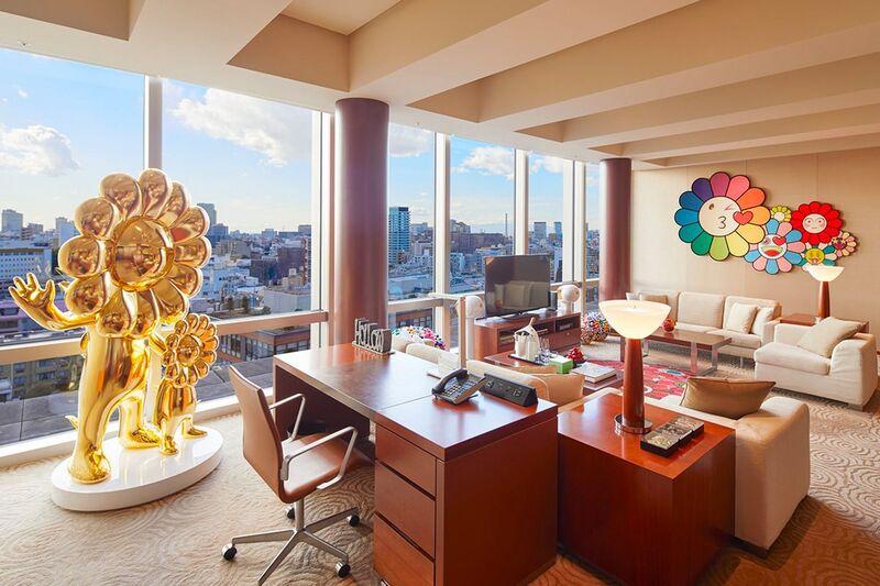 Artist-Designed Hotel Suites