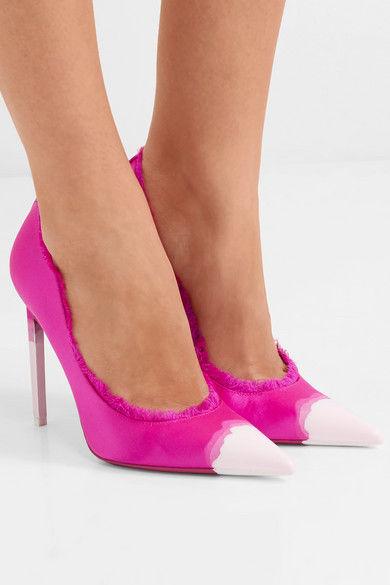 Artfully Frayed Stilettos : Tom Ford heels
