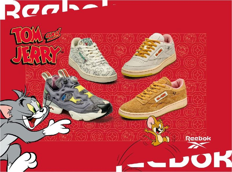 Nostalgic Cartoon-Themed Sneakers