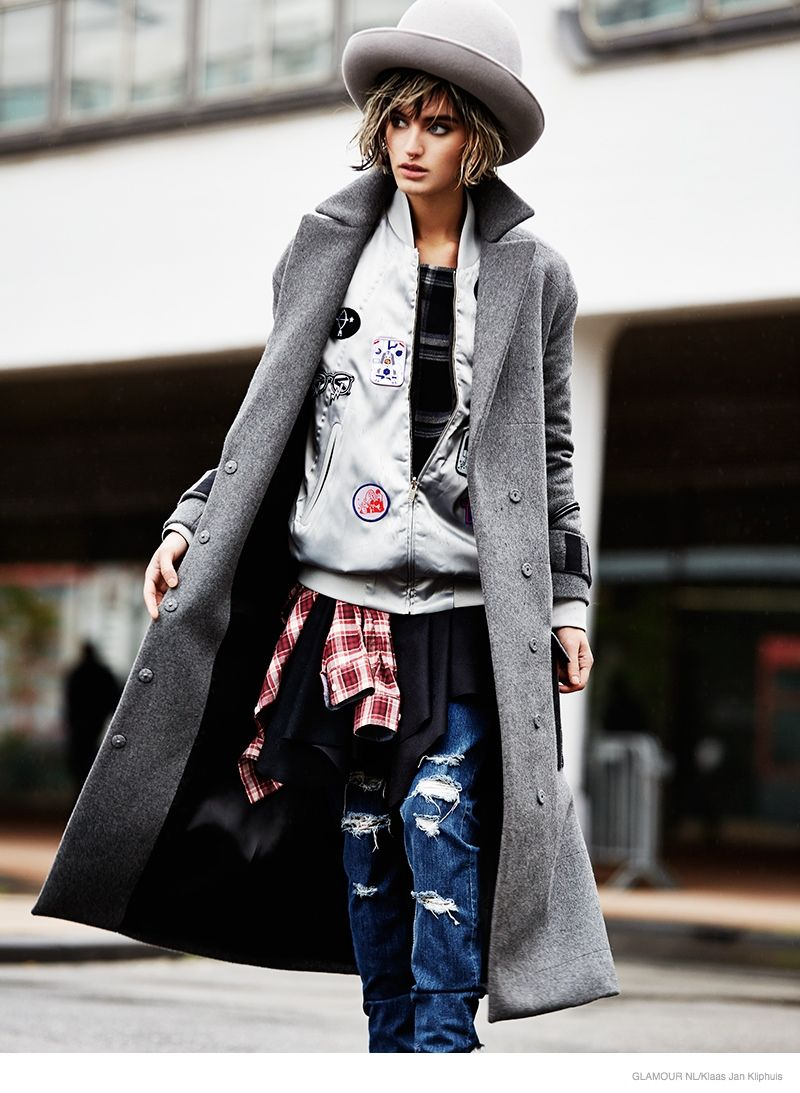 Eclectic Tomboy Fashion