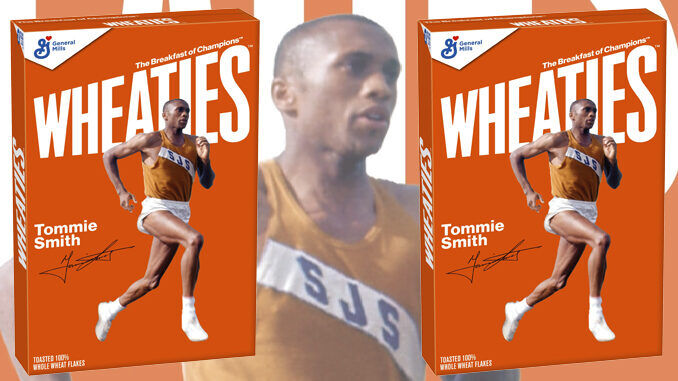 Track Star Cereal Boxes
