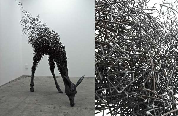 Twisted Beastly Sculptures