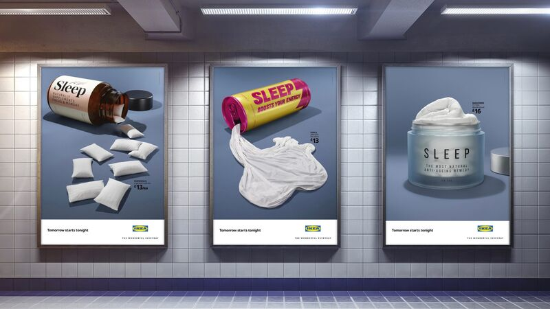 Clever Sleep Poster Campaigns