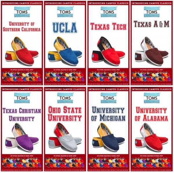 2a3e7563802e Collegiate-Inspired Slip-on Sneakers   TOMS Shoes Campus Collection