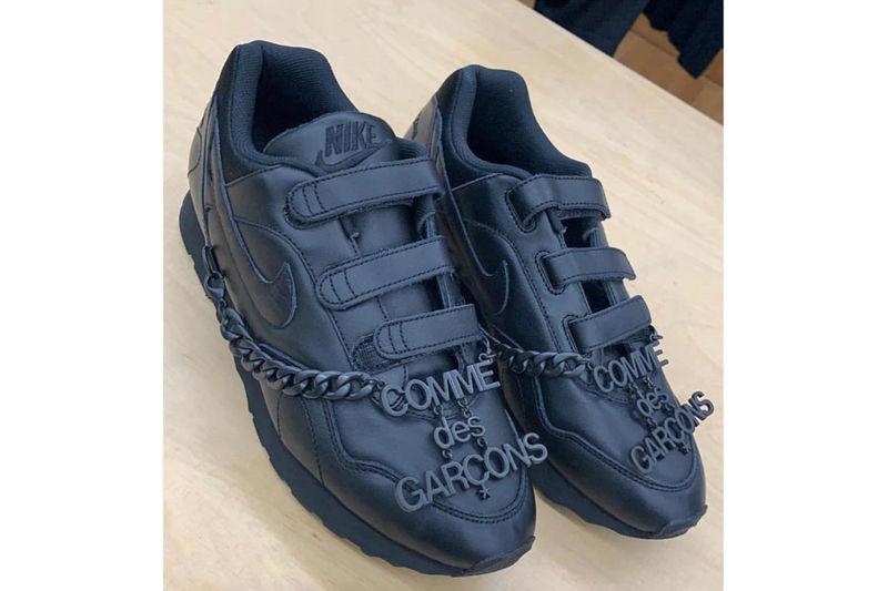 Velcro Black Tonal Sneakers