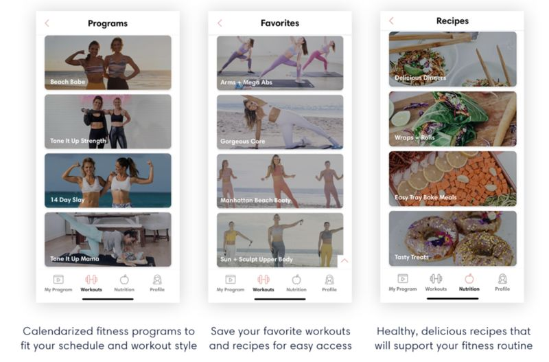 Inspirational At-Home Exercise Apps