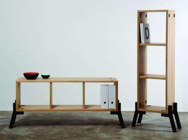 Tool-Free Shelves