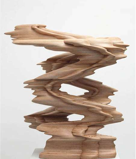 Distorted Wooden Artworks