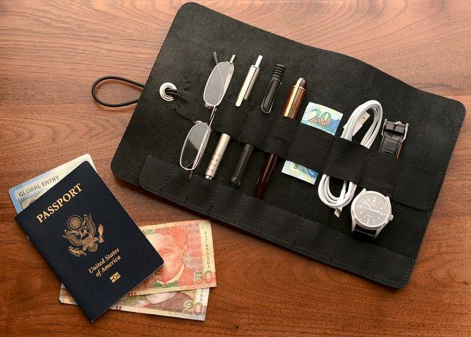Premium Leather Tool Rolls