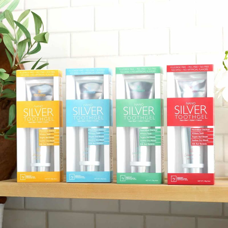 Silver-Infused Tooth Gels