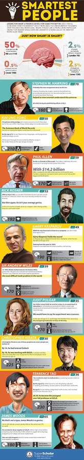 Intelligence-Ranking Infographics