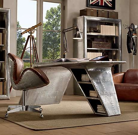 Upcycled Aviation Furniture