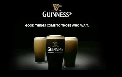 7 Funky Beer Ads + Guinness Light Show