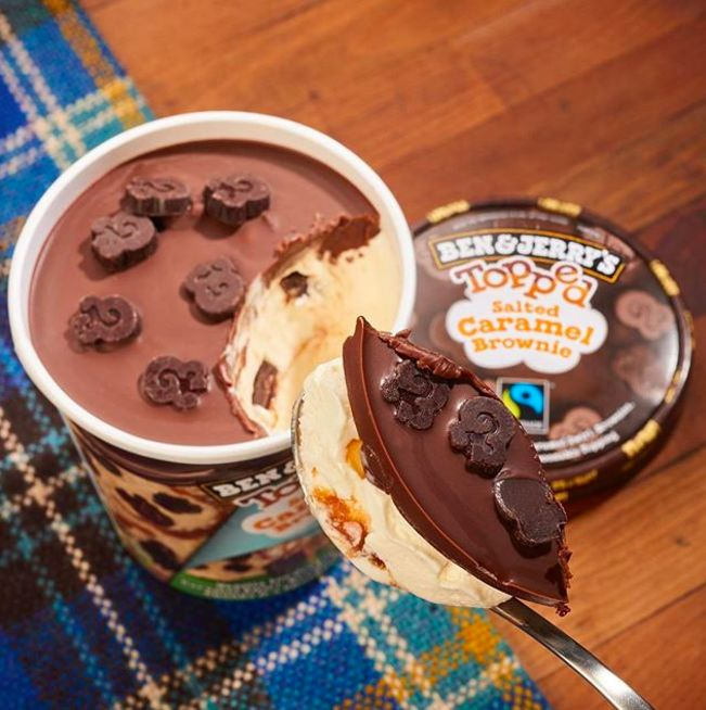 Chocolate-Topped Ice Cream Pints
