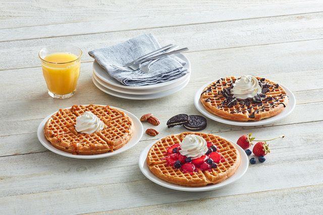 Indulgent Waffle Promotions