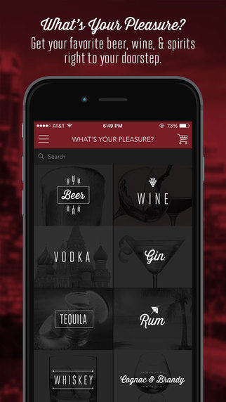 Alcohol-Ordering Apps