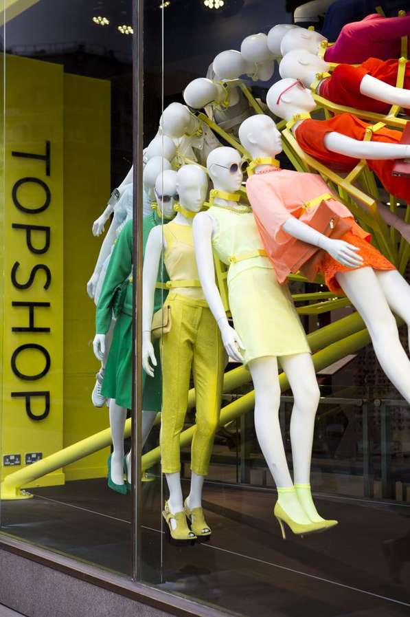 Rotating Mannequin Displays