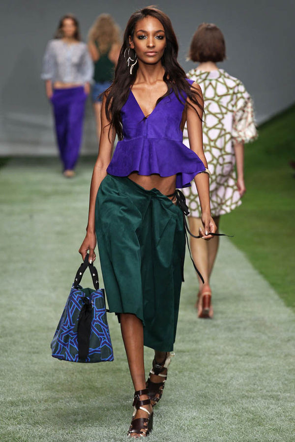 Brilliant Jewel-Toned Fashions