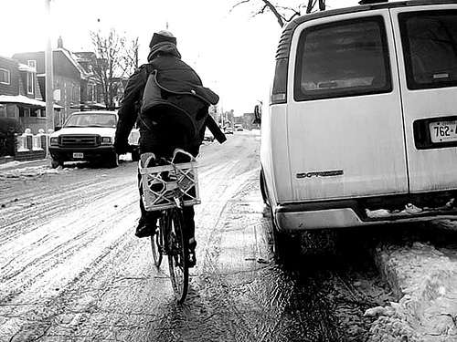 Snow Plowing Bike Paths