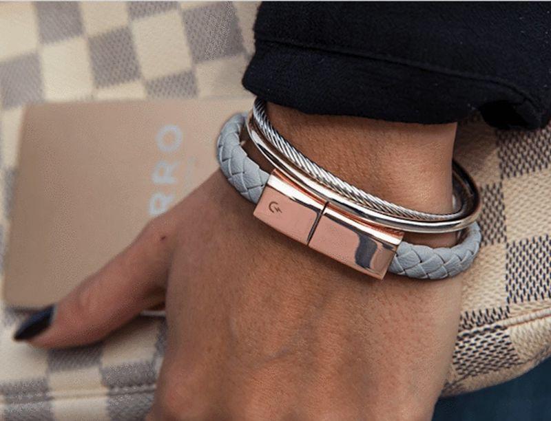 Haute Connector Cable Bracelets