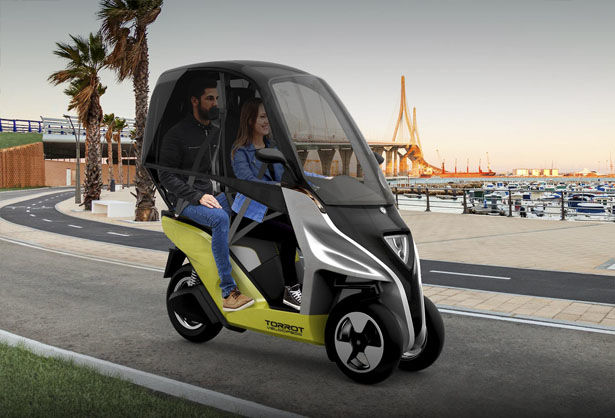 Three-Wheeled Emissions-Free Vehicles