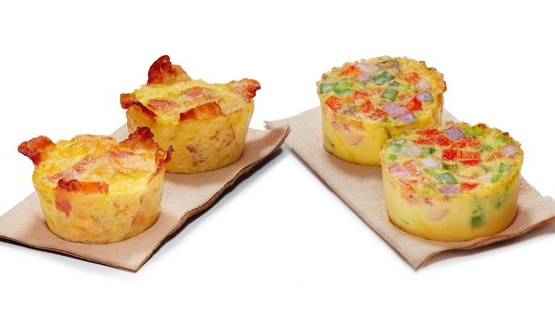 Bite-Sized Mini Frittatas