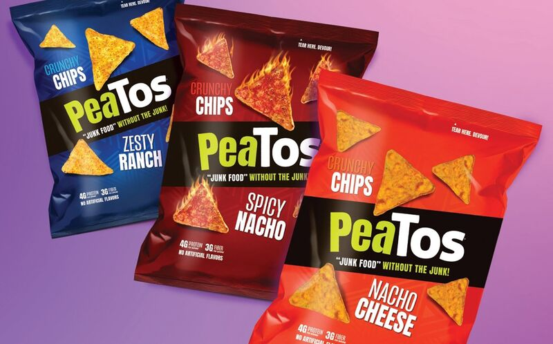 Pea-Based Tortilla Snack Chips