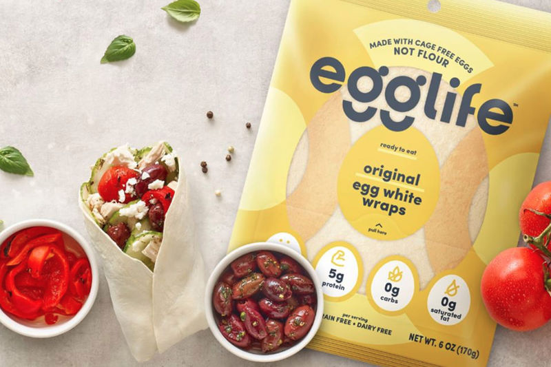 Egg White Tortilla Wraps