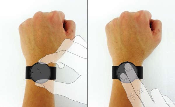 Minimalist Tactile Timepieces