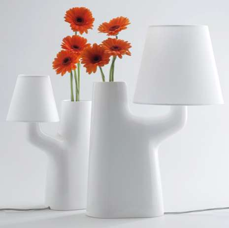 Interactive Illuminating Vases