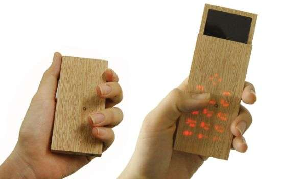 Touch Sensitive Wooden Phones
