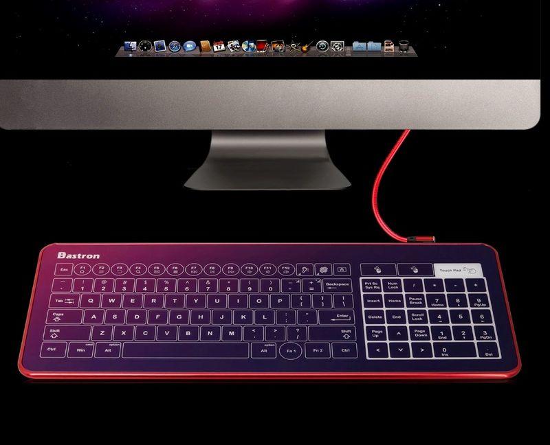 Haptic Feedback Touch Keyboards