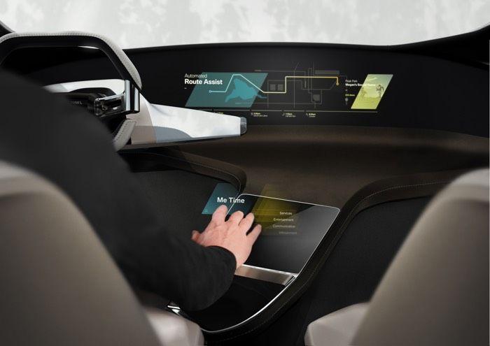 Gesture Control Car Interiors