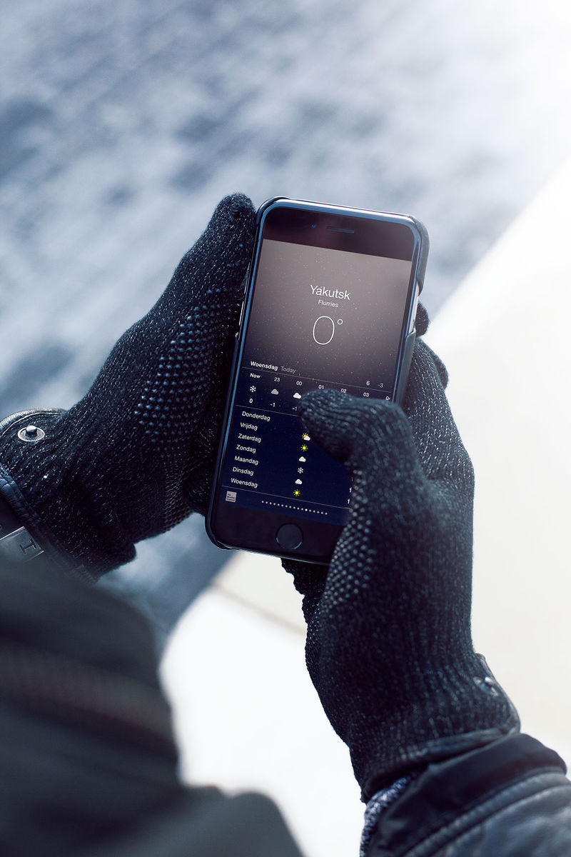 Refined Touchscreen Gloves