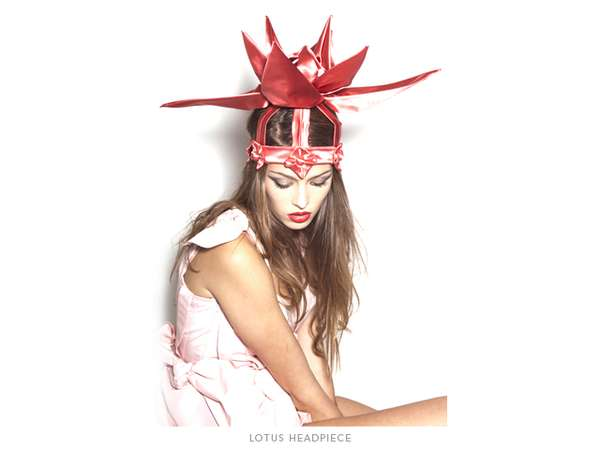 Oversized Lotus Headpieces