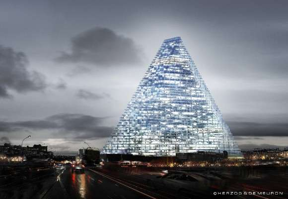 Pyramid Parisian Buildings