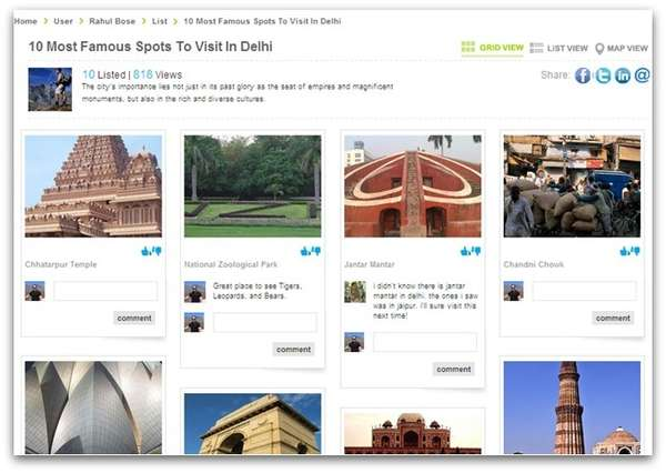 Travel-Focused Social Networks