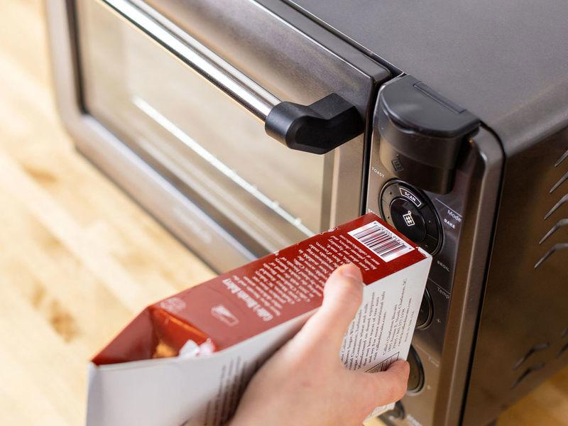 Barcode-Scanning Smart Ovens