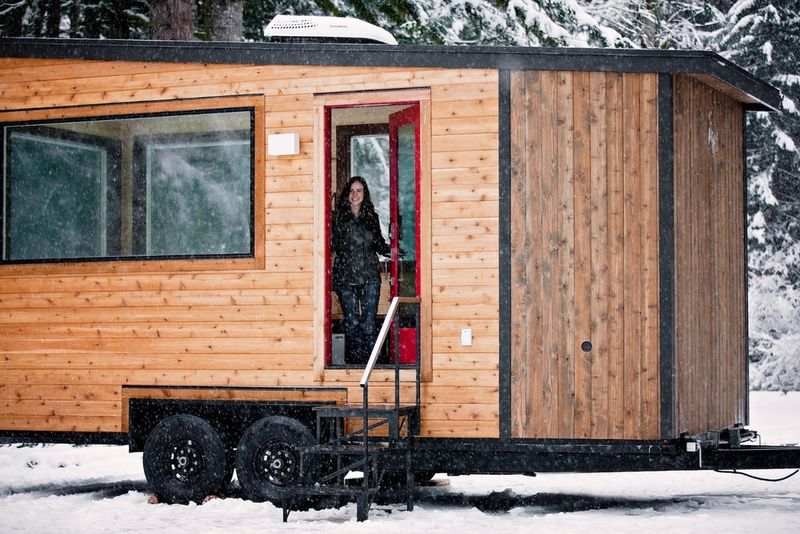 Towable Off-Grid Cabins
