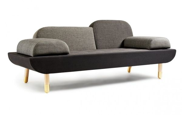 Contemporary Asymmetrical Couches